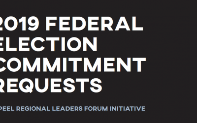 2019 Federal Election Commitment Requests Document Cover
